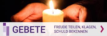 Banner für https://gebet.bayern-evangelisch.de